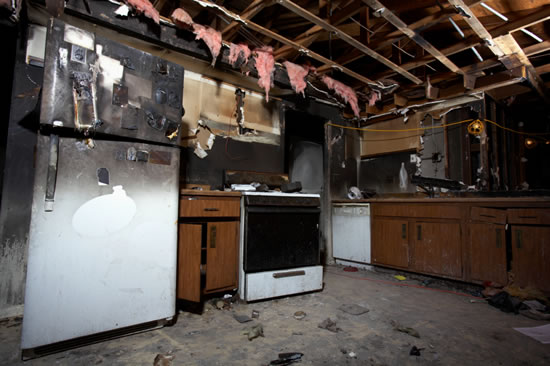Fire Damage Restoration in New Caney TX