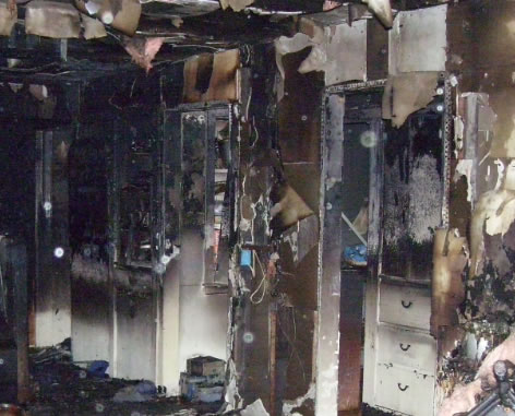 Fire Damage Restoration in Hardin TX