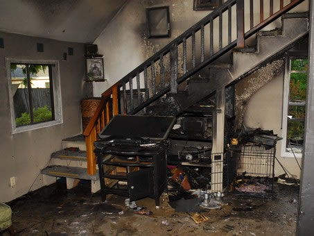 Fire Damage Restoration in Danevang TX