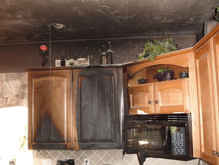 Fire Damage Restoration in Hull TX