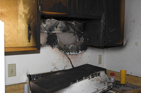 Fire Damage Restoration in Montgomery TX