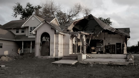 Fire Damage Restoration in Daisetta TX