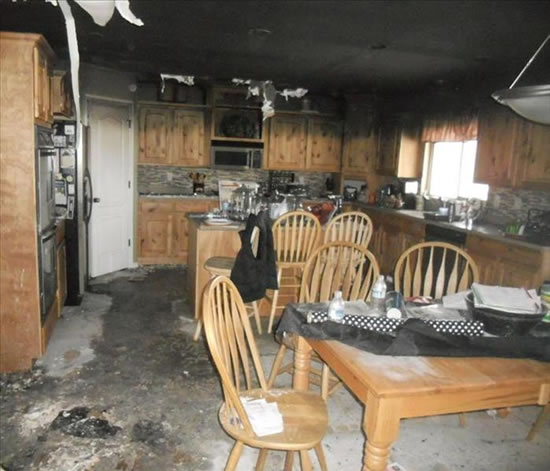 Fire Damage Restoration in League City TX