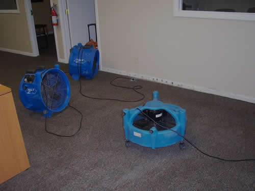 Water damage restoration in Raywood TX